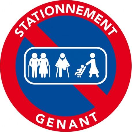 interdiction de stationner sur les passages piétons